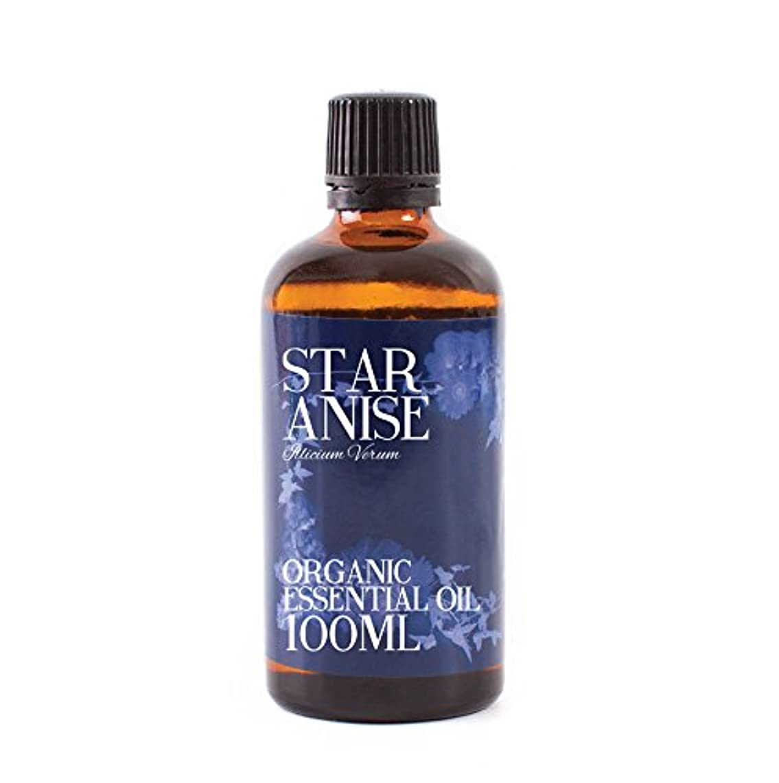 スツール定義する反映するMystic Moments | Star Anise Organic Essential Oil - 100ml - 100% Pure