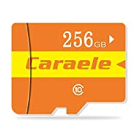 Miseku 128GB フラッシュハイスピードクラス10 携帯電話カメラ Micro SD TFメモリーカード用 256G マルチカラー