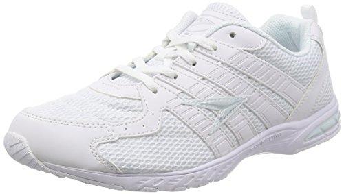 [シュンソク] 運動靴 通学履き 瞬足 軽量 19~27cm 2E キッズ 男の子 女の子 SJJ 1850 ホワイト/ホワイト 23.5 cm