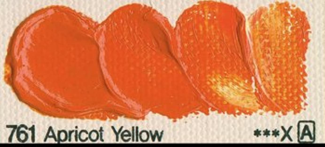 Shin Han Oil Colour 50 mlチューブアプリコットイエロー