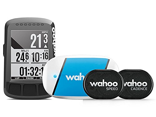 WAHOO(ワフー) ELEMNT BOLT GPSサイクルコンピューターバンドル(センサー類/マウント付) WFCC3B