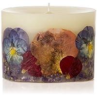 ロージーリングス プティボタニカルキャンドル ボエム ROSY RINGS Petite Oval Botanical Candle Bohème