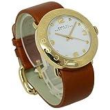 [マークバイ マークジェイコブス]MARC BY MARC JACOBS マークバイマークジェイコブス腕時計 MBM8574 エイミー ゴールド ブラウン レザー レディース [並行輸入品]