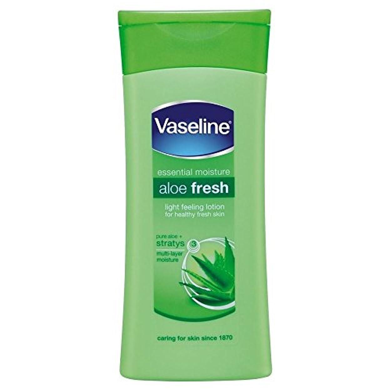 通訳スタジオコークスVaseline Intensive Care Aloe Fresh Body Lotion (200ml) ワセリン集中治療アロエフレッシュボディローション( 200ミリリットル)