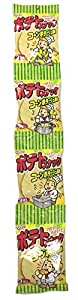 かとう製菓 ポテトスナック4連 コーンポタージュ風味 (3枚×4袋)×12袋