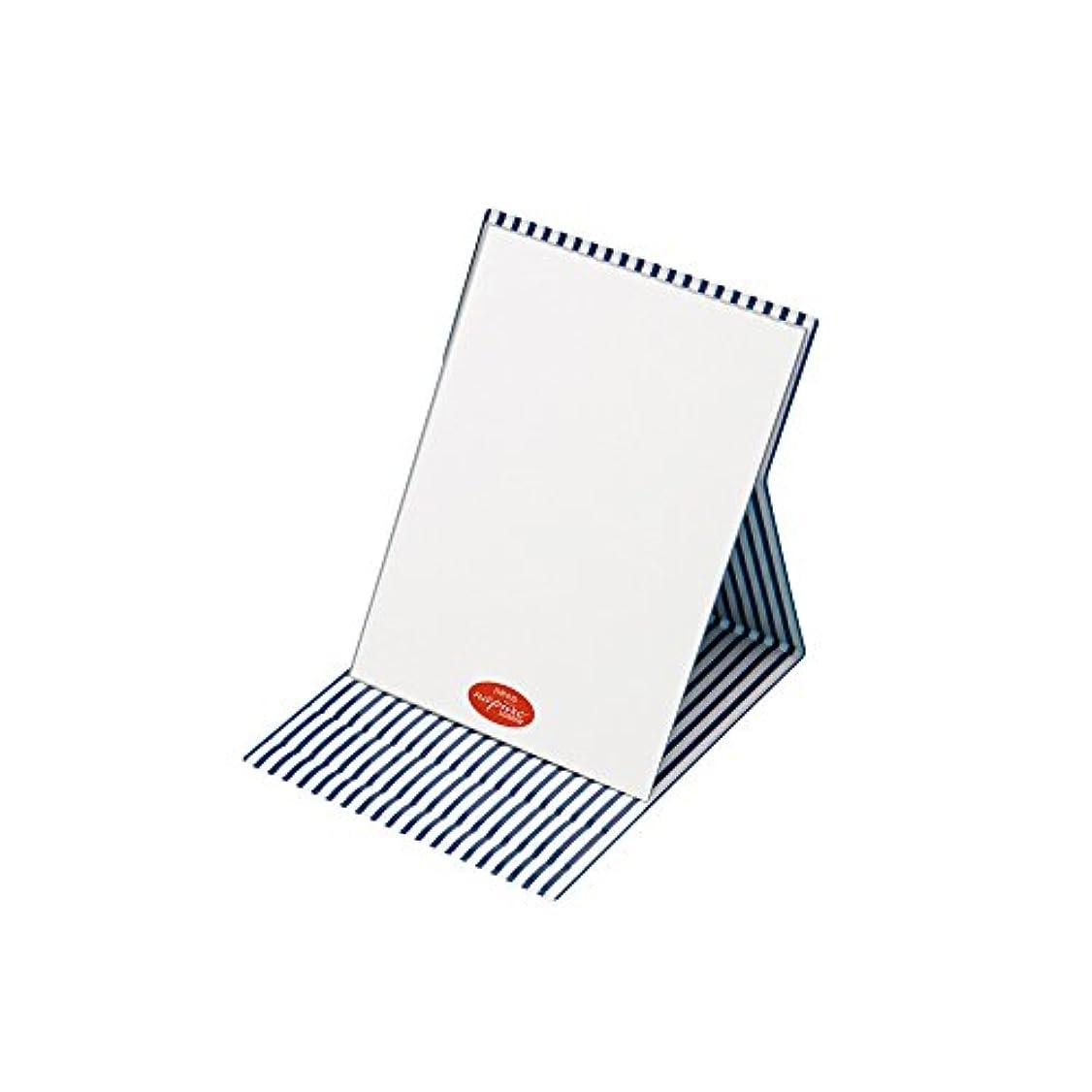ラインナップ分離する応用プロモデル折立ナピュアミラーストライプ