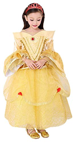 956b888e7bedd アイキーパー(Eyekepper) ディズニー 「美女と野獣」 ベル プリンセスドレス コスチューム コスプレ