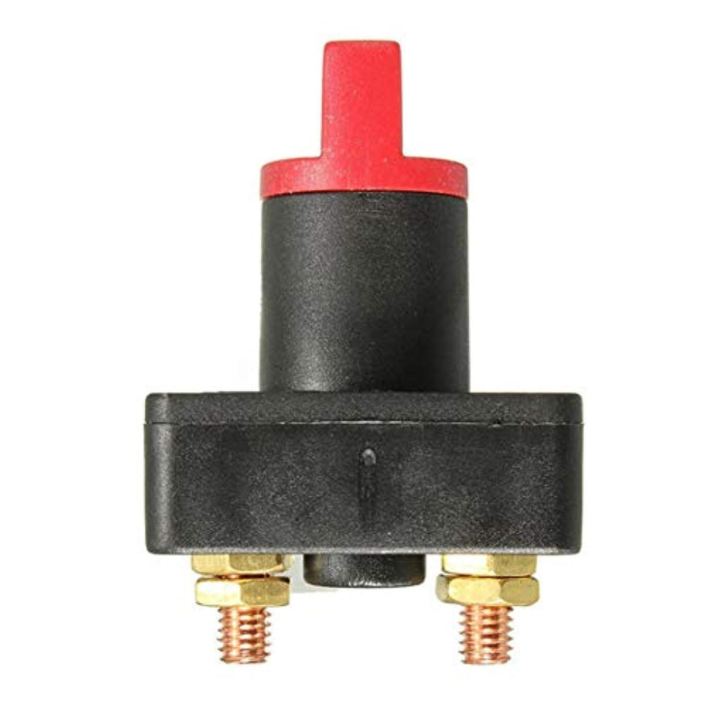 酸化物無許可酒YD089バッテリースイッチ電源切断ロータリースイッチ-ブラック&レッド