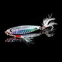 Lixingmingqi 釣りルアージグライトシリコンベイトワブラースピナースプーンベイト冬の海アイスミノータックルイカ桃タコ (Color : D, サイズ : 7cm 30g)