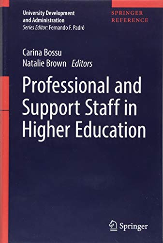 Professional and Support Staff in Higher Education (University Development and Administration)