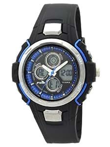 [ティーシーエッチキッズ]TCH KIDS 腕時計 アナデジ TH020-BKBL1 ボーイズ