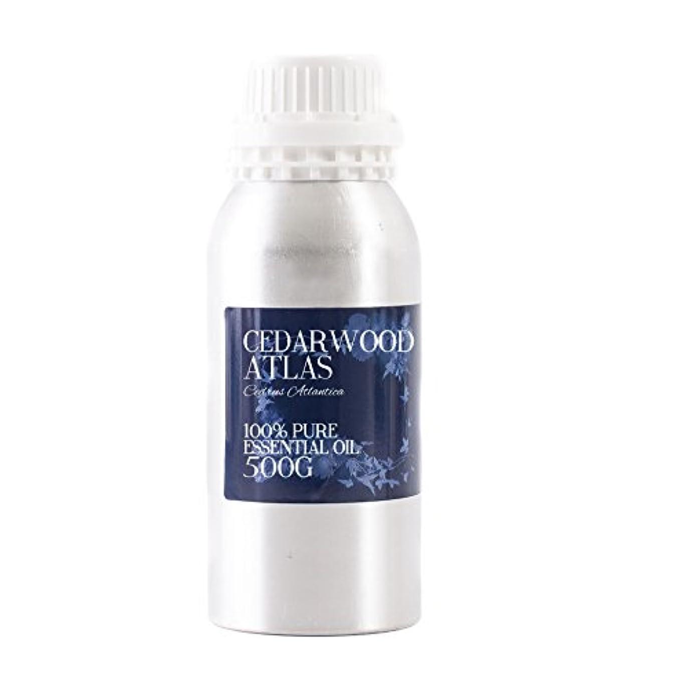 椅子拳メンタルMystic Moments | Cedarwood Atlas Essential Oil - 500g - 100% Pure