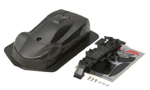 ミニ四駆限定シリーズ ベルダーガ スペアボディ (カーボンパターン) 95001