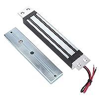 280kg / 600Lbs電気磁気ロック 保持力電磁石ロック 電動ロック 電動ドアロック 安全DC12V NCモード ジム、倉庫、家、屋内