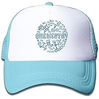 化学の方程式 素敵 かわいい おもしろい ファッション 派手 メッシュキャップ 子ども ハット 耐久性 帽子 通学 スポーツ