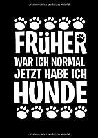 Notizbuch: Hund Mann Frau Gassi Verrueckt Pfoten Geschenk 120 Seiten, A4, Punktraster