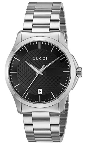 [グッチ]GUCCI 腕時計 Gタイムレス ブラック文字盤 ...