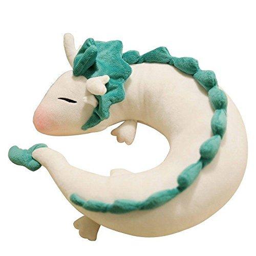 千と千尋の神隠し ハク ぬいぐるみ Spirited Away White Dragon Haku Cute Doll Plush Toy [並行輸入品]