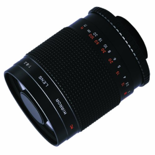 Bower High Power 500Mm F / 8.0 Telephoto mirrorlens Sly5008 Camera