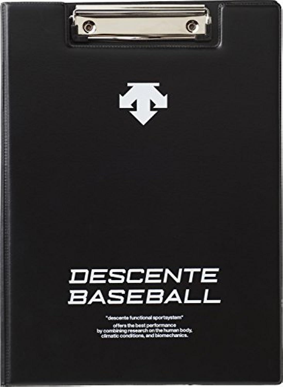 DESCENTE(デサント) 野球 フォーメーションボード  C1011B ブラック(BLK) F