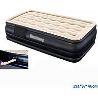 ベッド、二重層インフレータブルマットレス空気クッション家庭用インフレータブルベッド (色 : 7)