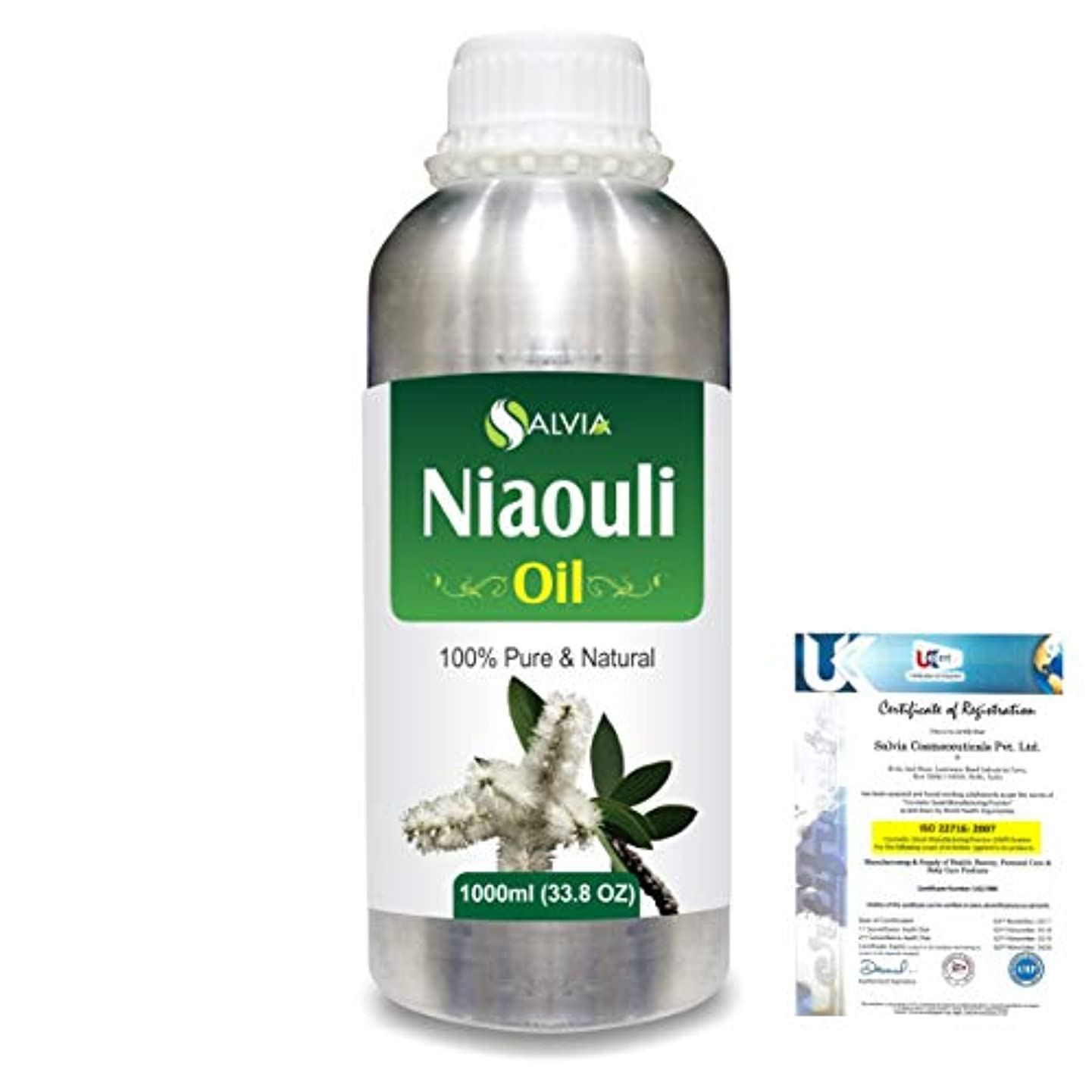 摂氏度着陸リスクNiaouli (Melaleuca Viridiflora) 100% Natural Pure Essential Oil 1000ml/33.8fl.oz.