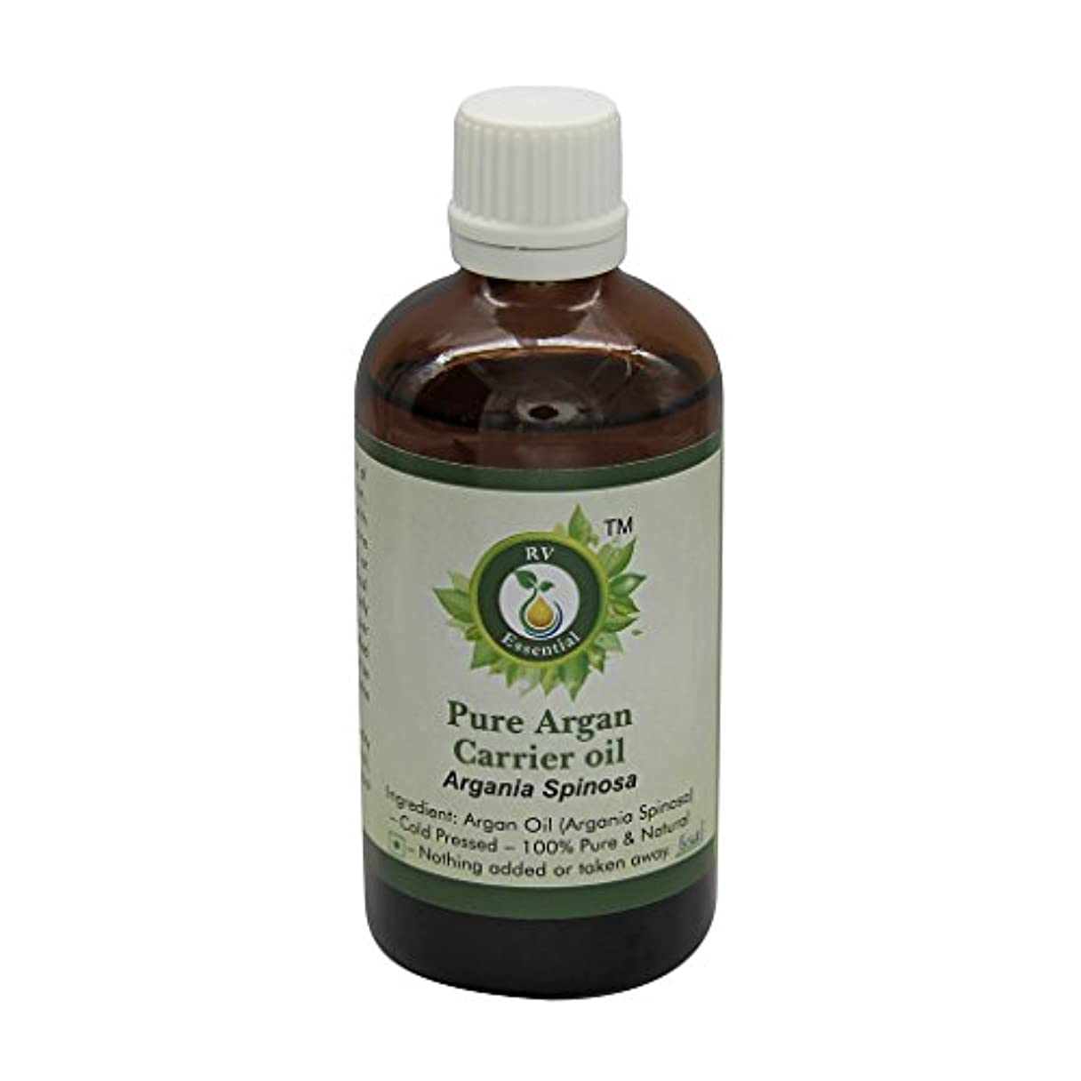 アドバイス明示的にビヨンR V Essential ピュアアルガンキャリアオイル100ml (3.38oz)- Argania Spinosa (100%ピュア&ナチュラルコールドPressed) Pure Argan Carrier Oil