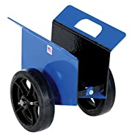 Vestil Heavy-Duty Panel Or Slab Dolly - 1200-Lb. Capacity - 8 Rubber-On-Steel Wheels by VESTIL