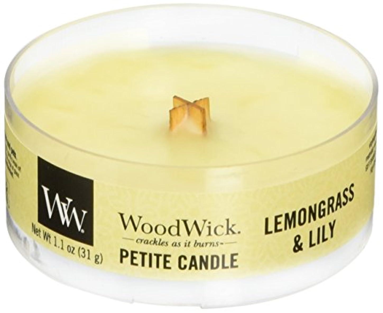 エネルギーファイル新年Wood Wick ウッドウィック プチキャンドル レモングラス&リリー