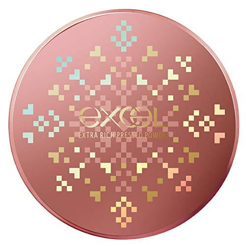 エクセル excel エクストラリッチプレストパウダー '20 02/ピーチグロウ 10g