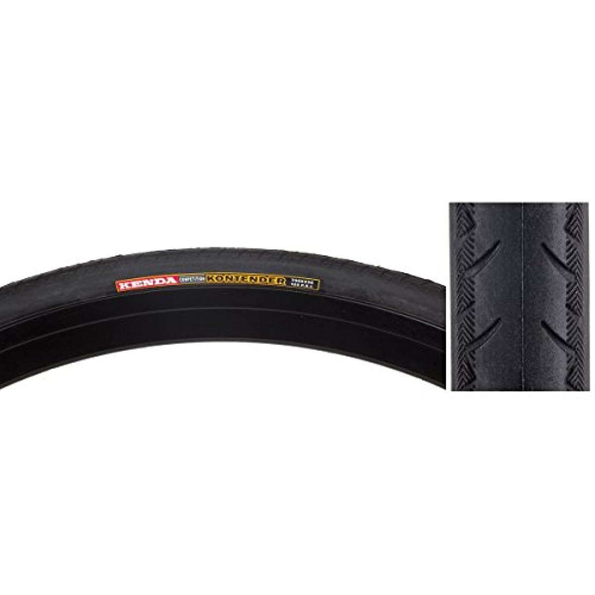 ためらうひらめき潜水艦Sunlite Road Kontender Tire, 700 x 23, Black/Black Skin by SunLite