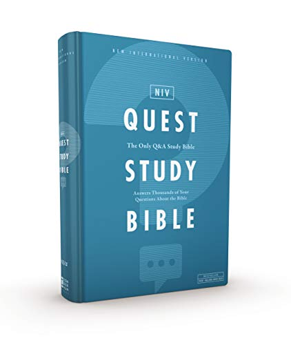 Quest Study Bible: New International Version, The Only Q&A Study Bible: Answers Thousands of Your Questions About the Bible
