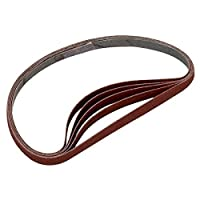 Sanding Detailer Replacement Belts, 400 Grit, 5-Pack by Lumberton