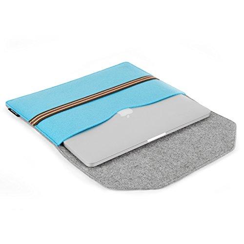 インナーケース MacBook Air / Pro用 13.3/11.6インチ対応 ノートパソコンケース  おしゃれ 多色選択 収納スペース付き 可移動のコンパートメントが内蔵 kindle用ケース