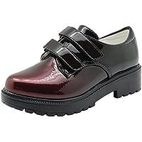 Children's Girl's Oxford Dress Shoe (Little Kid) (Color : WineRed, Size : 1 M US Little Kid)