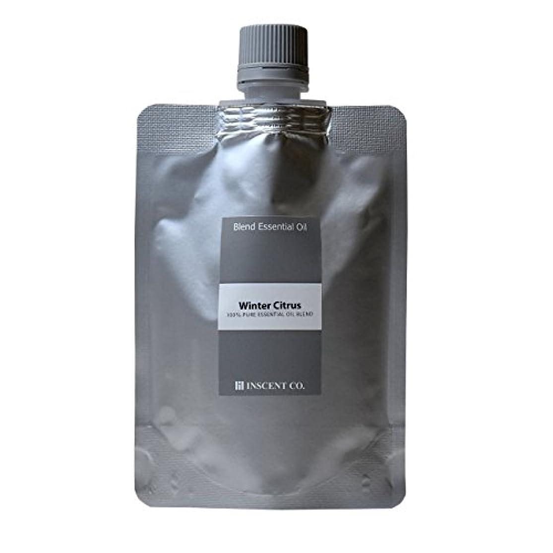 不適タンク裂け目(詰替用 アルミパック) アロマ ブレンド ウインターシトラス 50ml インセント アロマオイル
