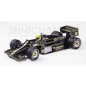 PLANEX ミニチャンプス製 限定版 1/18 ロータス97T アイルトン・セナ (Minichamps Scale Model 1:18 Ayrton Senna 97T) LOT-SM-97T18