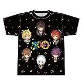 可愛ければ変態でも好きになってくれますか? フルグラフィックTシャツ 黒 Lサイズ
