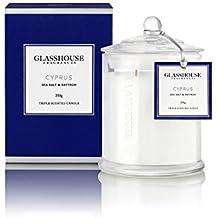 Glasshouse Cyprus Sea Salt and Saffron Candle