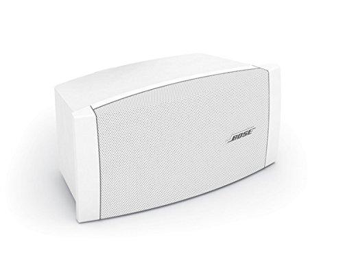 [해외]Bose FreeSpace surface-mount loudspeaker 전천후 스피커 벽걸이 브라켓 포함 (1 개) 화이트 DS100SEW/Bose FreeSpace surface-mount loudspeaker all-weather speaker wall bracket included (1 piece) white DS100SEW