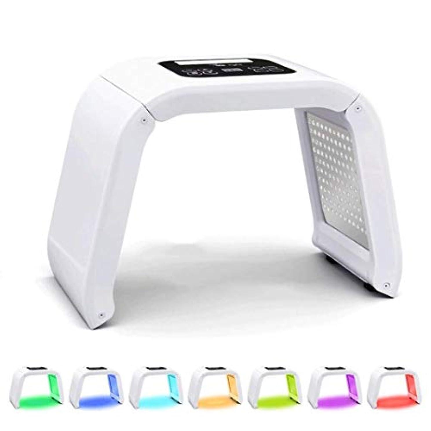 瞳ダイアクリティカル債務7色LEDの肌の若返り美容機器、アンチエイジング若返りスキンサロンSPA美容スチーマー機器のためのケアLEDフェイスフォトンレッドライトセラピー