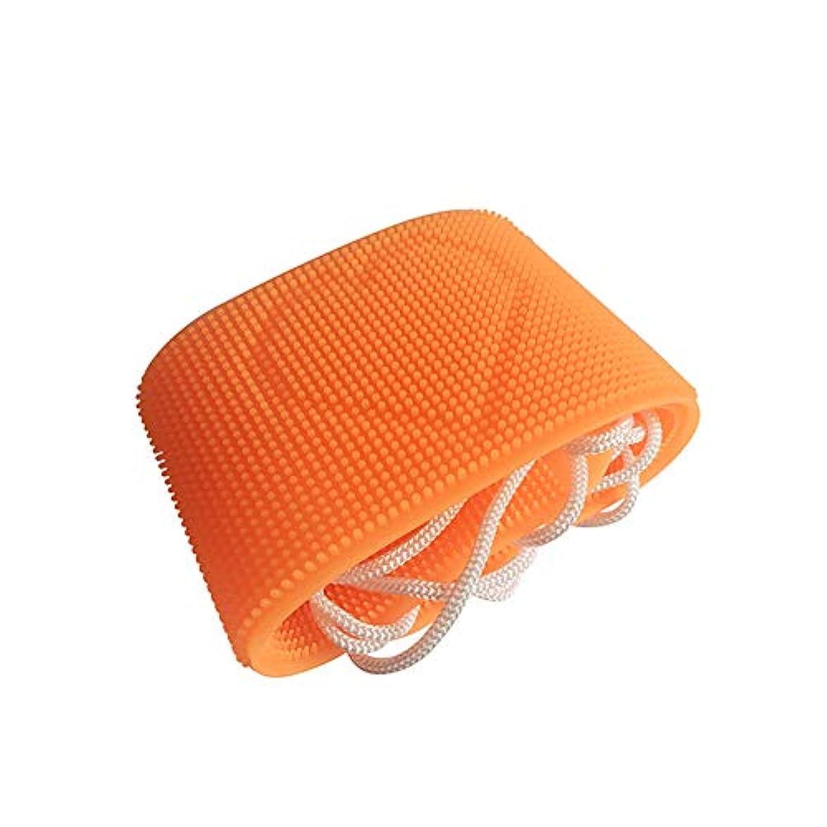 ブリーフケース広がり抑制Aylincoolシャワーアクセサリー、バス&ボディ、ヘチマ、スポンジ&プーフ、バックスクラバーベルト、ボディバスブラシクリーニングツールマッサージブラシ