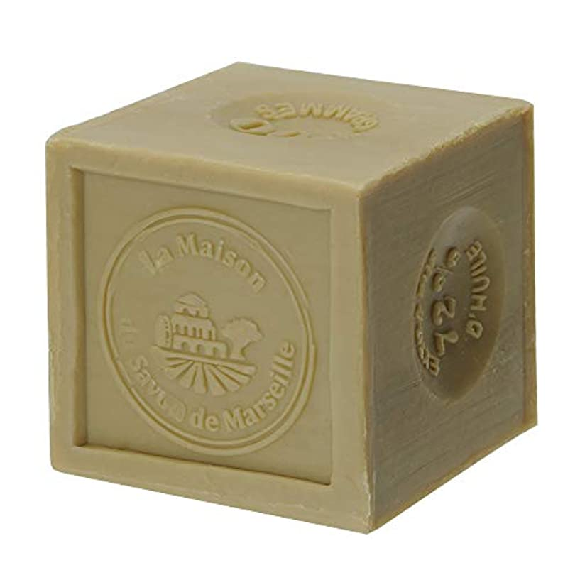 過ちバイナリフォージノルコーポレーション マルセイユ石鹸 オリーブ UPSM認証マーク付き 300g MLL-3-1