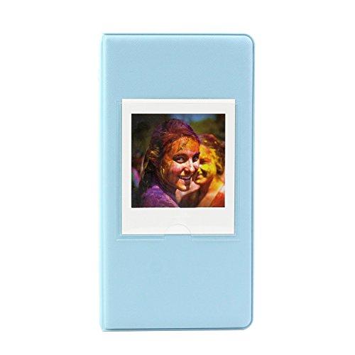 FUJIFILM ハイブリッドチェキSQ10 インスタントカメラ instax SQUARE SQ10 instax SHARE SP-3フイルムに専用 アルバム (64枚収納ーブルー)