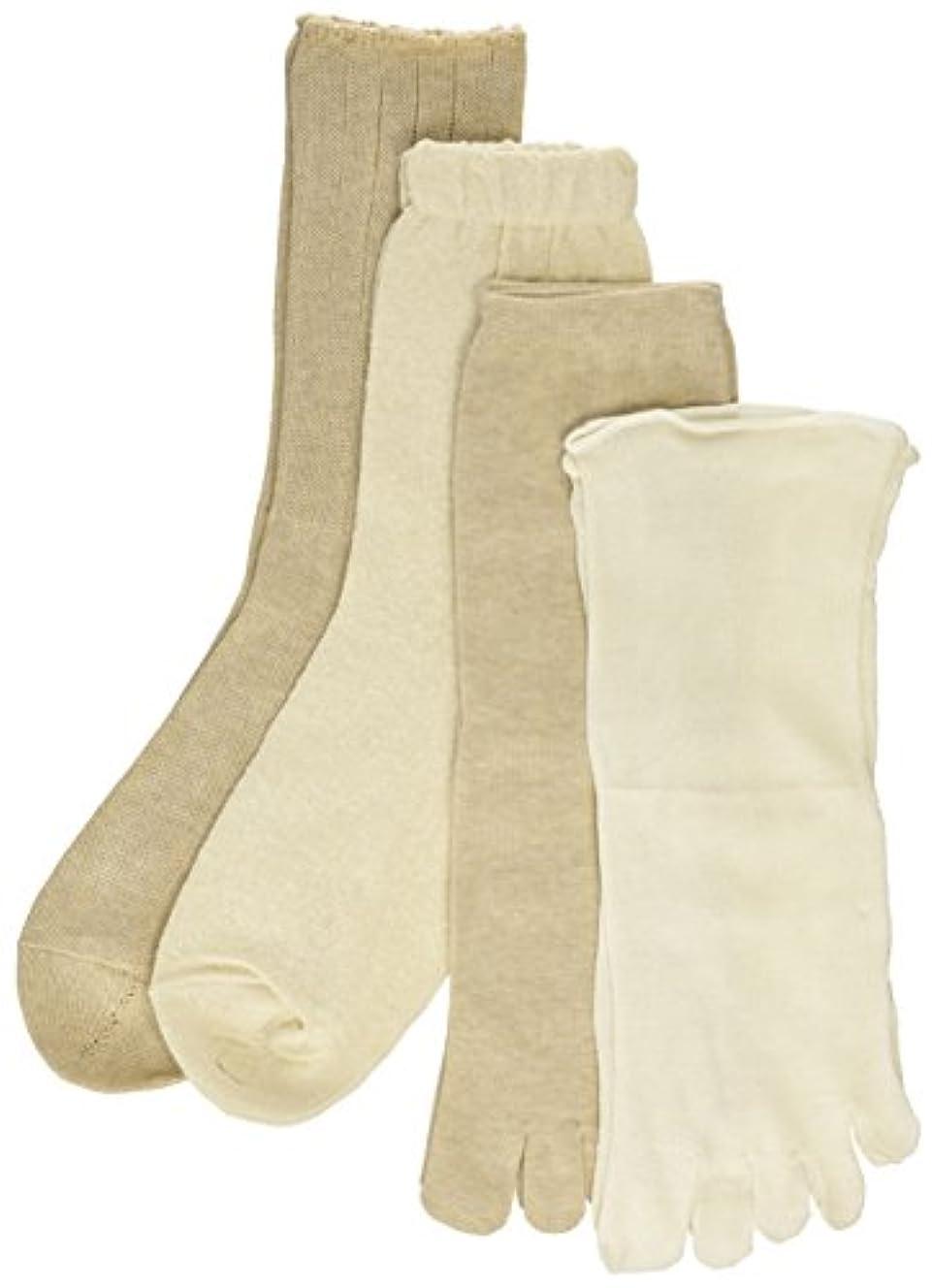 変装したバングコメント4足重ね履きソックス
