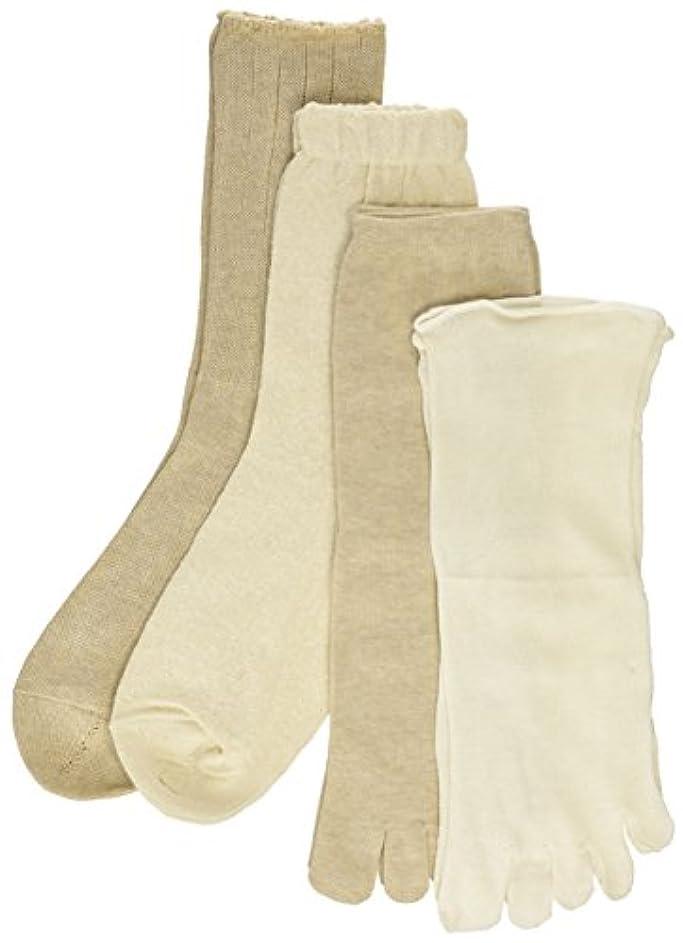 受益者ストッキング評価する4足重ね履きソックス