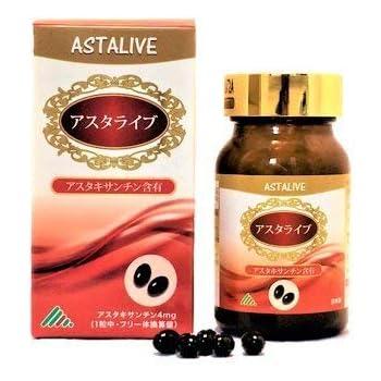 ASTALIVE(アスタライブ) アスタキサンチン トコトリエノール 60粒(30日分)