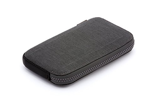 Bellroy All Conditions Phone Pocket - Standard ウォレット Charcoal - Woven