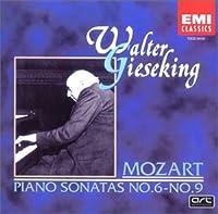 モーツァルト:ピアノ・ソナタ集 第6番~第9番