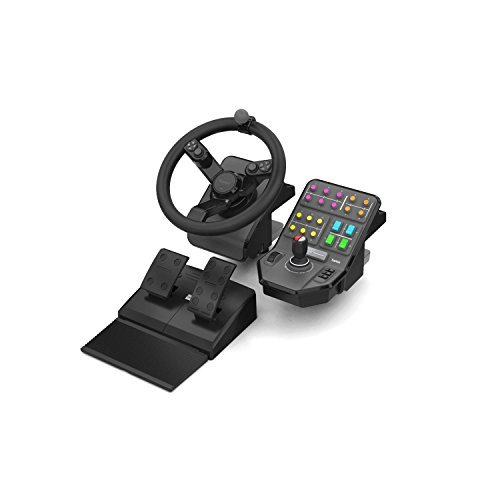 Saitek Farming Simulator Wheel Pedals & Vehicle Si...